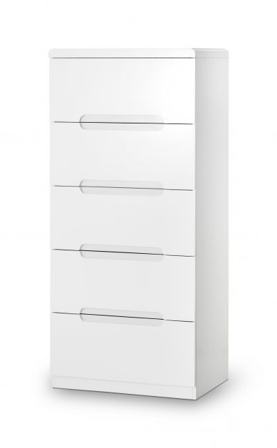 Manhattan 5 Drawer Narrow Chest