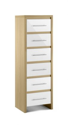 Stockholm 6 Drawer Tall Chest