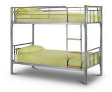 Atlas Bunk Bed Aluminium Finish
