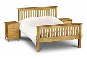Barcelona Bed High Foot End