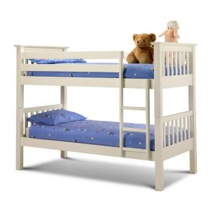 Barcelona Bunk Bed Stone White