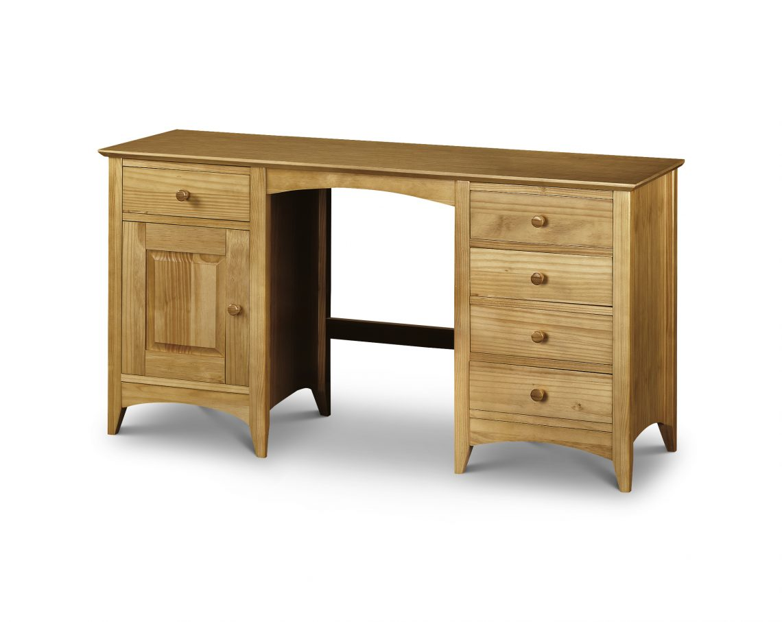 Kendal Twin Pedestal Dressing Table Crazy House Furniture