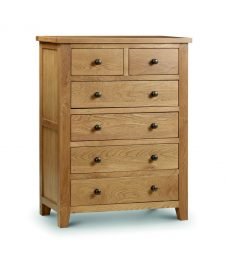 Marlborough Oak 4+2 Drawer Chest