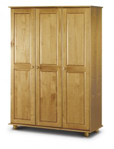 Pickwick 3 Door Wardrobe Fitted Interior Pickwick 3 Door Wardrobe Full Hanging