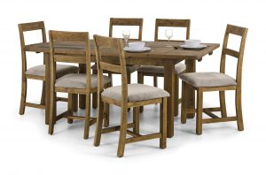 Aspen Rough Sawn Dining Set
