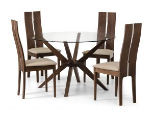 Chelsea Glass Dining Set cc