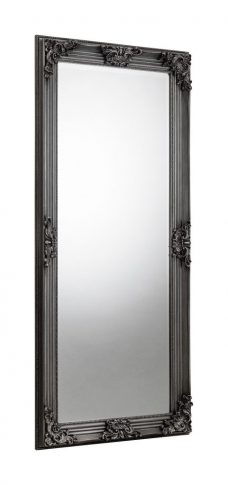 Rococo Pewter LeantoDress Mirror