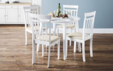 Coast White Dining Set