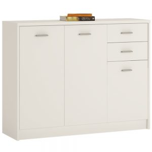 4You 3 Door 2 Drawer Wide Cupboard