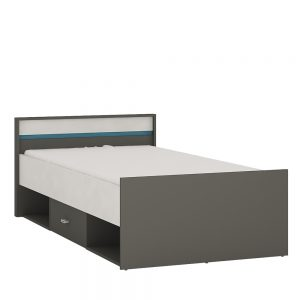 Alien Single Bed incl drawer open storage