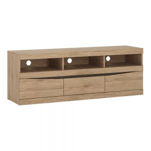Kensington Wide 3Drawer TV Unit