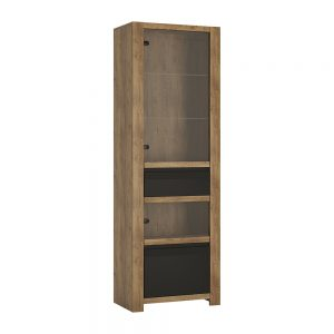 Havana 1Door 1Drawer Display Cabinet