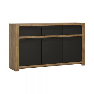 Havana 3Door 3Drawer Sideboard