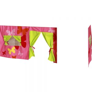KIDS World Print Tent Pink