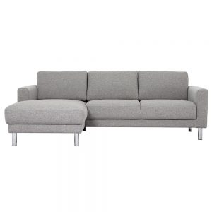 Cleveland Chaise Longue Sofa LH Light Grey