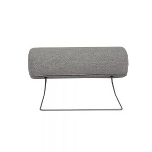 Cleveland Neck Pillow Light Grey