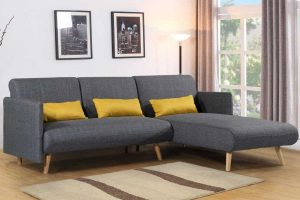 Los Angeles Corner Sofa Bed & Chaise