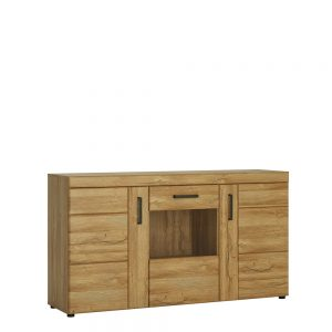 Cortina 3 Door Glazed Sideboard